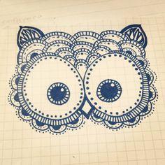 owl drawing | Tumblr
