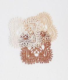 Aucci Knitting: Песочные салфетки кремовый crème cream leinen linen лен льняной sand песок песочный салфетки крючком схема в блоге