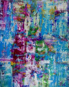 Celeste spectra (amethysts reflections) Painting by Nestor Toro Abstract Painters, Abstract Art, Abstract Expressionism, Original Art, Original Paintings, The Other Art Fair, Colour Field, Paintings I Love, Painting Edges