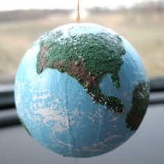 3D Textured Globe