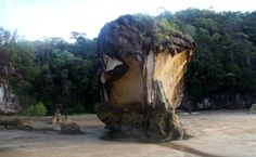 Erosión del mar en Bako