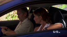 "Burn Notice 4x12 ""Guilty as Charged"" - Fiona Glenanne (Gabrielle Anwar) & Sam Axe (Bruce Campbell)"