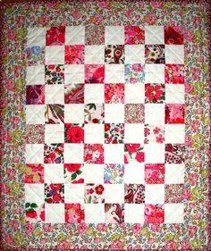 liberty fabric quilt