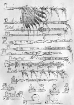 Sioux pipes :: 1851