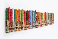 Mini Crayon Sculptures // COLORS WHAAAAT?!