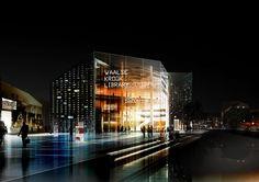 Library and Multimedia Centre, Ghent, Belgium (schmidt, / hammer / lassen, 2010)