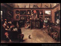 Galleria dell'antiquario, Frans Francken, 1620
