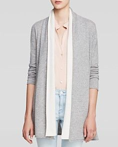 C by Bloomingdale's Double Layer Cashmere Cardigan