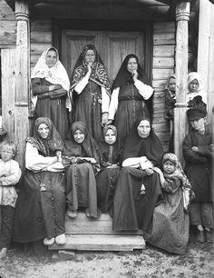 Типы раскольников поморцев. 1897 г. Семеновский уезд, Нижегородская губерния