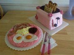 What an odd cake.