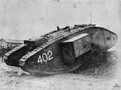 "Panzerserra Bunker- Military Scale Models in 1/35 scale: Mk IV ""Female"" Airship tug, Mk IV Male and Mk IV ""Male"" Tadpole - WWI Heavy British Tanks - case report"