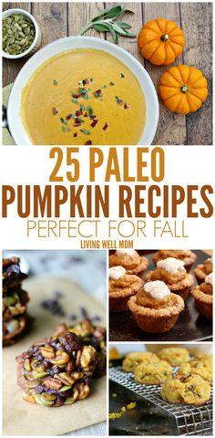 25 Paleo Pumpkin Rec