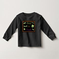 Trick Or Treat Toddler T-shirt - toddler halloween ideas gifts persents special unique