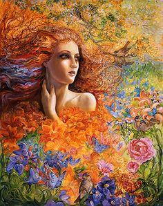 Summer Breeze ~ Josephine Wall  http://www.josephinewall.co.uk