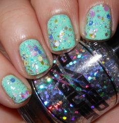Imperfectly Painted: Loaded Lacquer Fluffy Macaroons http://imperfectlypainted.blogspot.com/