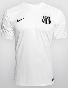 e7ee4033c Santos 2015 Nike Home Kits Nike Football, Football Shirts, Sports Shirts,  Top Soccer