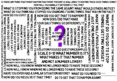 relationship questions solution focused therapy powerpoint