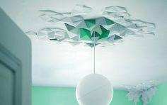 Deckenschmuck Rhombus System aus Polystryrol - Tipp des Tages - [SCHÖNER WOHNEN]