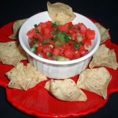 Fresh Tomato Salsa #recipe