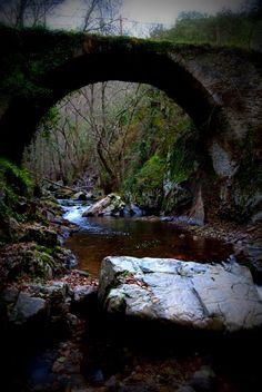 Las Puentes de Malpaso, Molinaseca in León, Castilla y León