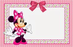 Free Minnie Mouse Printable Invitation Template | Invitations Online