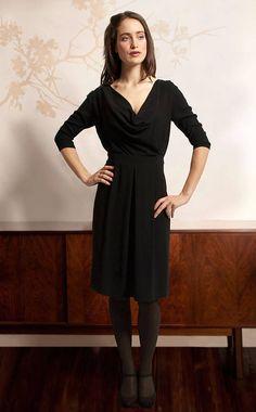 Queenie Dress In Crepe