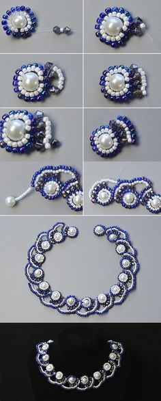 Like the pearl beaded necklace?The tutorial will be published by LC.Pandahall.com