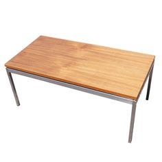 1stdibs - Florence Knoll For Knoll Rectangular Coffee Table