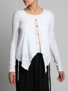 COTTON JACKET WITH EXTRA LAYER THAT CAN GO ON FRONT OR ON BACK