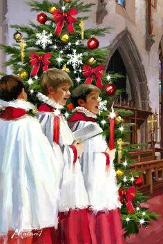"""Richard Macneil - """"Choir"""""""