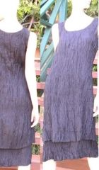 Silk Crinkle Dress. This may be purchased on ecofirstart.com