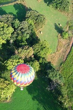 Hot air balloon Iowa