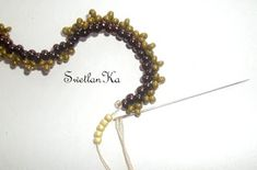 Beaded Earrings, Beaded Jewelry, Ruffle Beading, Handicraft, Seed Beads, Diy And Crafts, Jewelry Ideas, Tutorials, Woven Bracelets