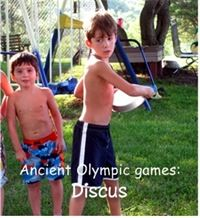 Ancient Olympic games kid ideas for party