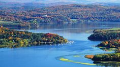 Best time to visit: Late September to mid-October Why it's worth a visit: Autumn is New England's time to shine,and there's no better place to witness the multitudes of autumnal leaves thanfrom the over 1,600 mile course ofLake Champlain Bikeways, which takesbikers through Vermont, upstate New York, and across the border into Quebec. Ifcycling gets too tiresome, take advantage of the ferries. Find more information at champlainbikeways.org.