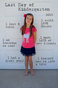 Last day of kindergarten pictures - Google Search