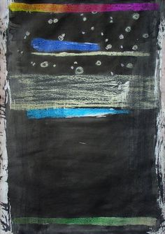 Jan Valik, 41,5 x 29,2 cm, oil pastel and chinese ink on paper, 2012