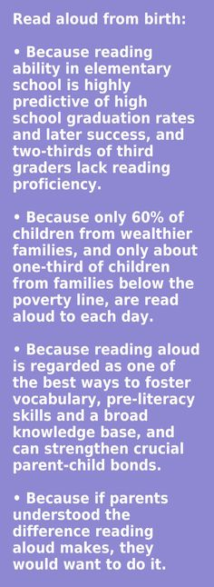 Wise words from jim trelease author the read aloud handbook read read aloud from birth fandeluxe Image collections