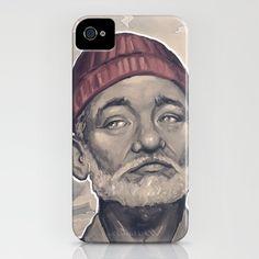 Steve Zissou iPhone case.