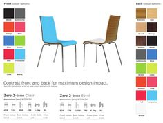 Zero Two-Tone Breakout Chair - Product Page: http://www.genesys-uk.com/Breakout-Furniture/Zero-Two-Tone-Breakout-Chair/Zero-Two-Tone-Breakout-Chair.Html  Genesys Office Furniture - Home Page: http://www.genesys-uk.com  The Zero Two-Tone Breakout Chair creates a new opportunity to add bright colours and warm wood finishes to the workplace, by combining matching or contrasting shades on both faces of the chair shell.