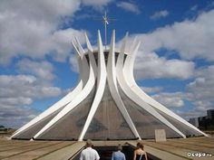 Cathedral of Brasilia: Catedral Metropolitana Nossa Senhora Aparecida [Exterior View] - Brasilia, Brazil