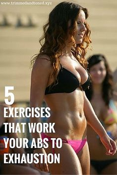 5 best exercises for a flat belly.