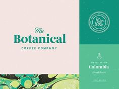 Botanical Coffee Branding by Nathan Riley