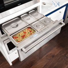 A warming drawer is a stylish small cooking appliance that is designed to do exactly what you think it would do – keep the contents of the drawer warm. Warming drawers can be a valuable addition to any living space. Click to learn more.