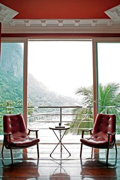 Rio: ambiente com vista espetacular no hotel La Suite, em Joatinga