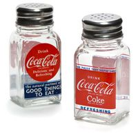 DRiNK CoCa CoLa® Glass Salt & Pepper Shakers
