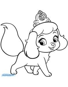 Inspiration Image of Pet Coloring Pages . Pet Coloring Pages Palace Pets Coloring Pages Disneyclips Witch Coloring Pages, Farm Animal Coloring Pages, Dog Coloring Page, Cute Coloring Pages, Coloring Pages To Print, Free Printable Coloring Pages, Adult Coloring Pages, Coloring Pages For Kids, Coloring Books