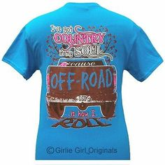 Girlie Girl Originals Off Road Sapphire Unisex Fit Shortsleeve Adult Tshirt | eBay