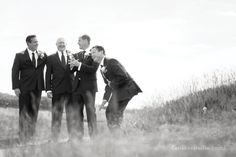 Alicia & TJ's groomsmen were such a fun group and I thought they needed a rat-pack-esque shot to capture their unique humor and camraderie.   #whistlingstraitswedding #groomsmen #kohler   http://mthreestudioblog.com/whistling-straits-wedding-alicia-tj-wedding/weddings/