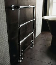 Imperial Radiators are a stunning addition to any bathroom. Browse our range of Imperial Bathroom Radiators today! Lund, Home Radiators, Bathroom Radiators, Traditional Bathroom Accessories, Imperial Bathrooms, Towel Rail, French Door Refrigerator, Chrome, Bathtub